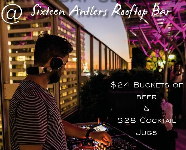 Saturday Sessions at Sixteen Antlers
